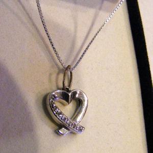 DIAMOND HEART PENDANT NECKLACE Kay Jewelers